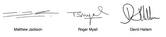 Directors Signatures