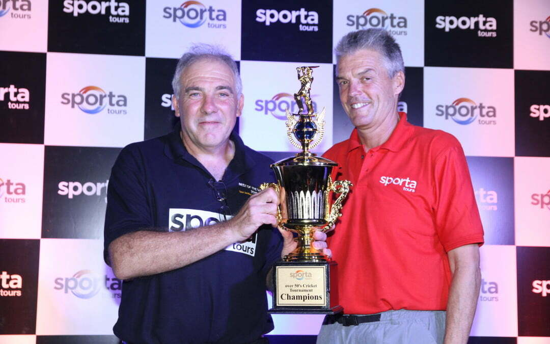 Sporta Tours Hosts Over 50's Sri Lankan Cricket Tournament