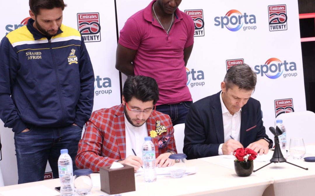 Sporta Group partner with Pakistan Super League franchise Peshawar Zalmi