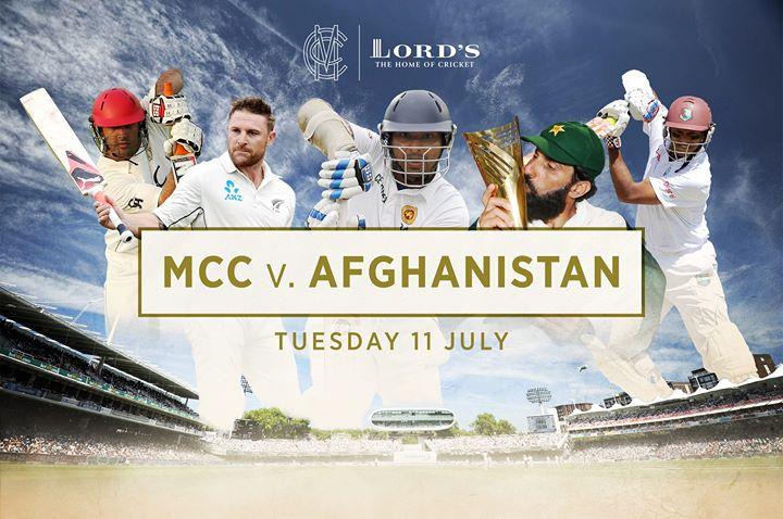 Historic MCC v Afghanistan Fixture