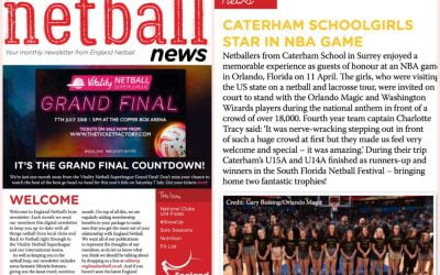 England Netball report on Caterham School US Tour