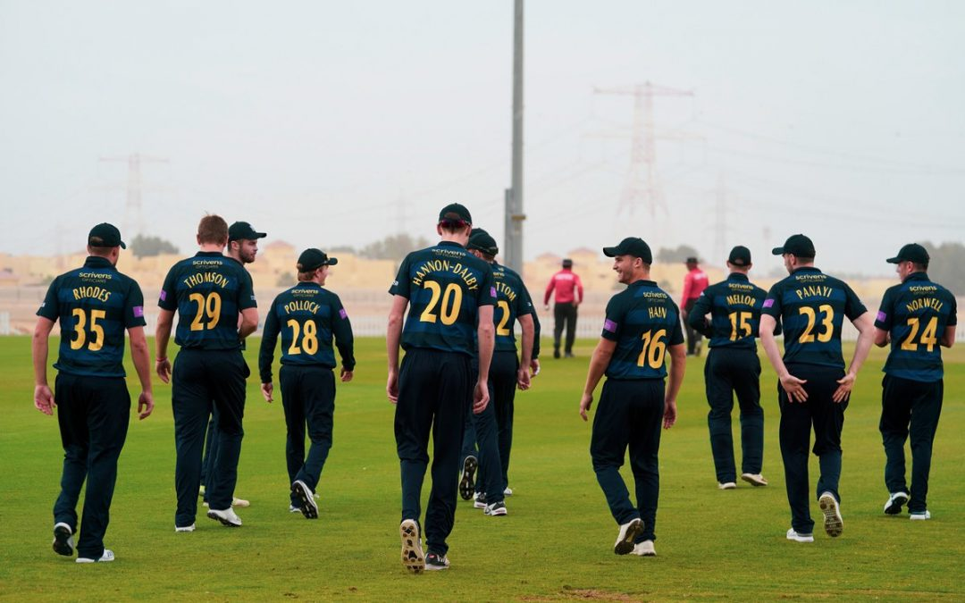 County Cricket Clubs Pre-season with Sporta