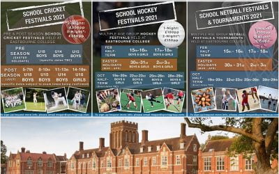 Cricket, Netball & Hockey Festivals for Schools