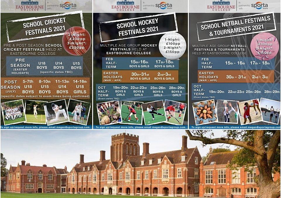 Cricket, Netball & Hockey Festivals for Schools