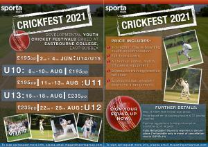 CrickFest 2021 by Sporta