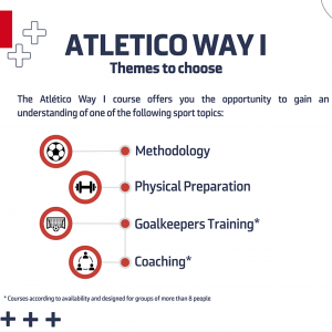 Atletico Madrid Way 1 Programme