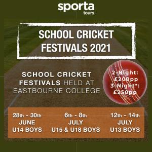 School Cricket Festivals 2021