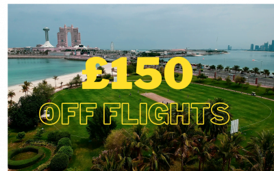 Save up to £150pp on UAE Flights